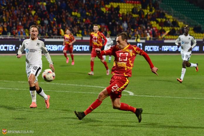 Деобальд и Мухаметшин забили победные голы в 20-м туре ФНЛ