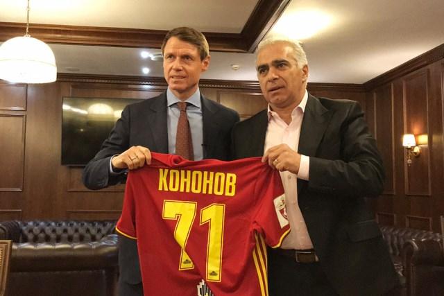 Гурам Аджоев: Пока Кононов остаётся главным тренером «Арсенала»