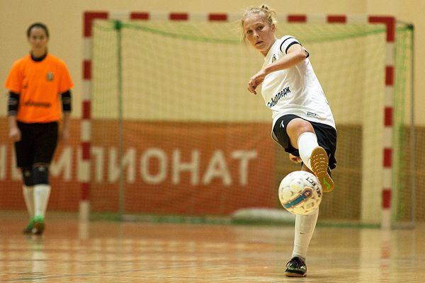 Александра Самородова забила в первом же матче чемпионата России
