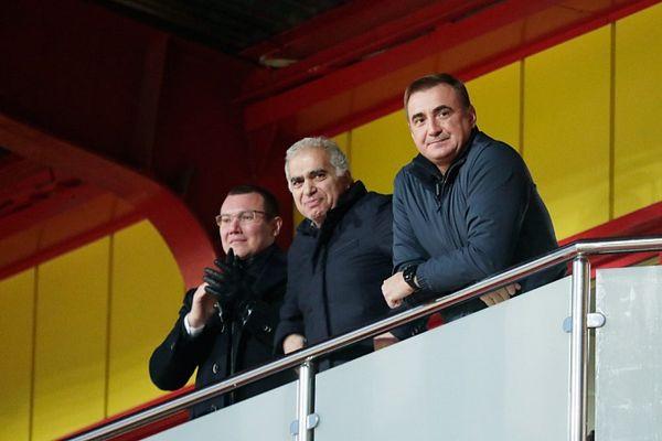 Алексей Дюмин: Пусть воля к победе и дальше помогает «Арсеналу» добиваться успехов