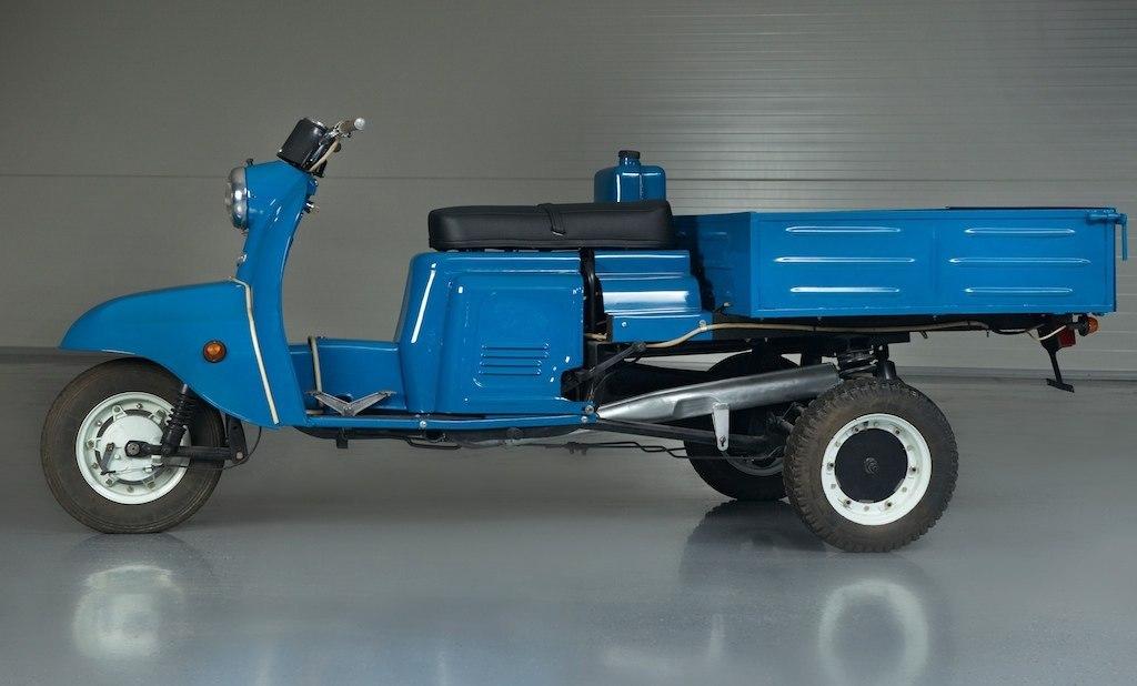 Особенности грузовых и легковых мотороллеров Муравей