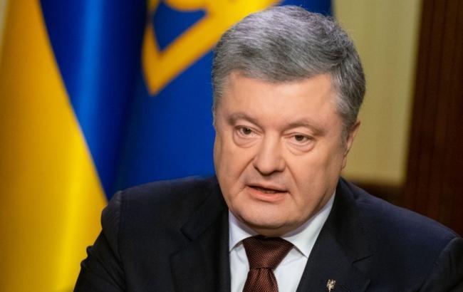 Порошенко: доказательства преступлений РФ против украинцев передадут в Гаагу