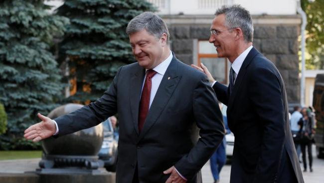 Петр Порошенко проведет встречу с главой альянса НАТО