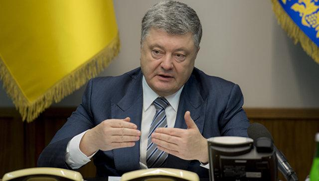 Порошенко сделал жесткое заявление о российской эскалации в Керченском проливе