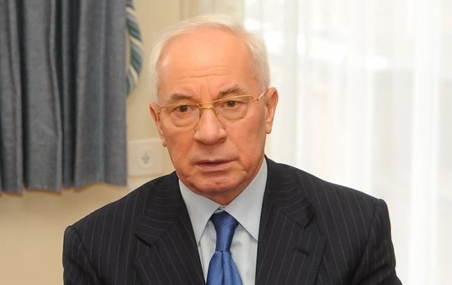 Активы Азарова за границей останутся под арестом