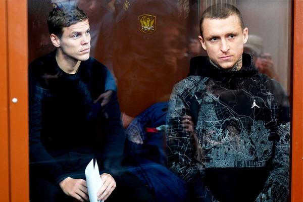 Мамаев и Кокорин останутся в заключении до 8 февраля