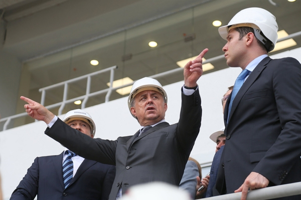 Виталий Мутко: В целом я решил задачу нормализации российского футбола