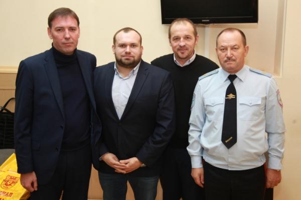 Руководители тульского «Арсенала» и полиции обсудили итоги года