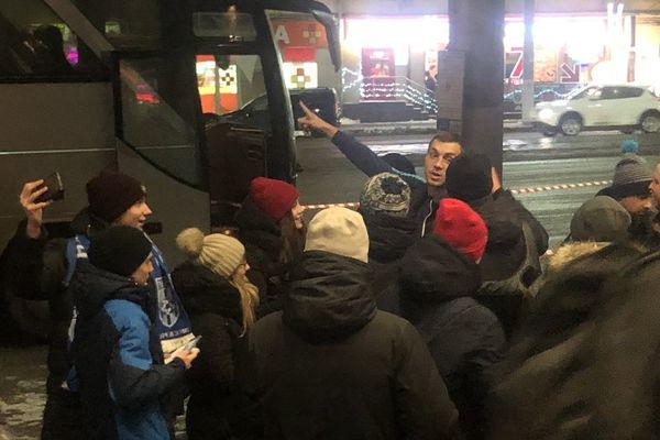 «Зенит» прибыл в Тулу на матч с «Арсеналом»