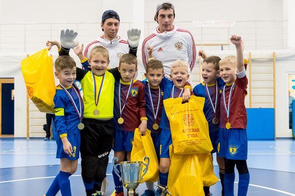 Алексинский «Юниор» выиграл детский турнир на призы Игоря Горбатенко