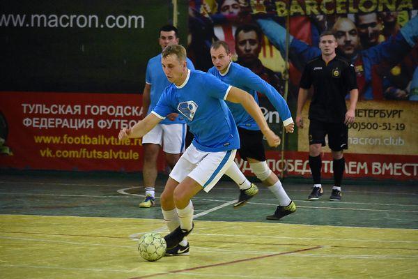 ЛДПР стала единоличным лидером чемпионата Тулы по мини-футболу