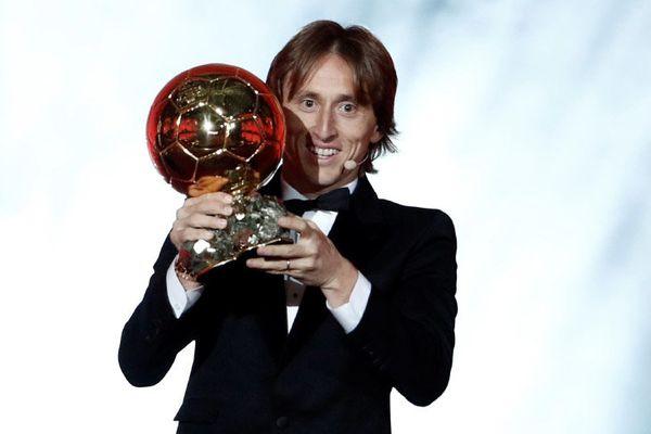 Лука Модрич получил «Золотой мяч»