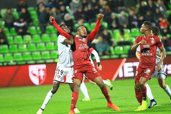 «Мец» Сунзу и Майга закрепился в лидерах французской Лиги 2