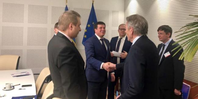 Украина рассчитывает на поддержку Евросоюзом проектов по развитию Азово-Черноморского региона