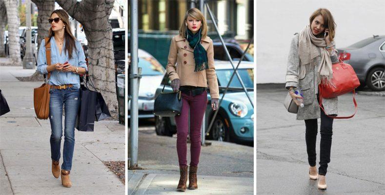 Брендовая стоковая одежда и обувь