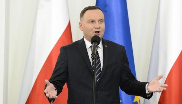 Президент Польши и генсек НАТО обсудили в Варшаве поддержку Украины