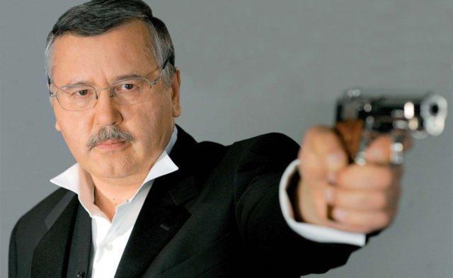 Гриценко обещает легализовать огнестрельное оружие и создать добровольческую армию