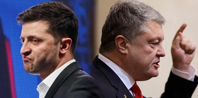 Порошенко сделал предложение Зеленскому по дебатам: 14.04, 14:14