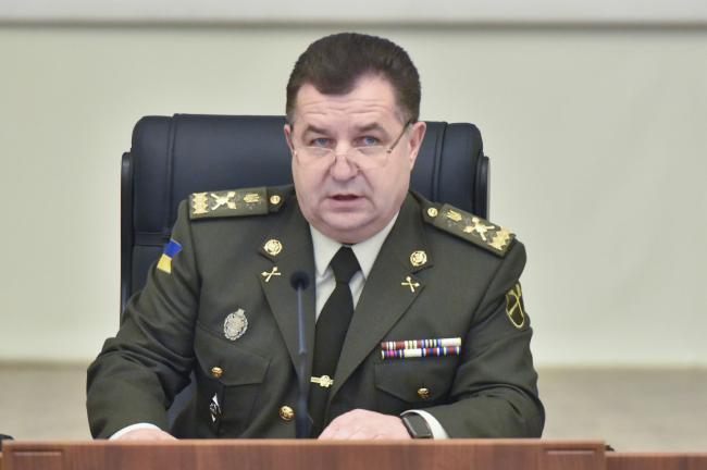 Полторак рассказал, ведет ли переговоры с Зеленским по сохранению должности