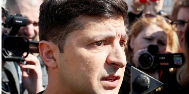 Народный фронт просит Минобороны выяснить, уклонялся ли Зеленский от мобилизации в 2014 году