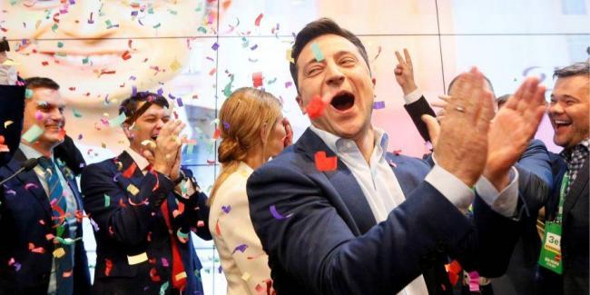 В команде Зеленского рассказали, куда он исчез после ночи выборов