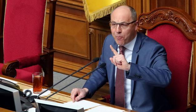 Парубий сказал, когда Рада возьмется за Избирательный кодекс с открытыми списками
