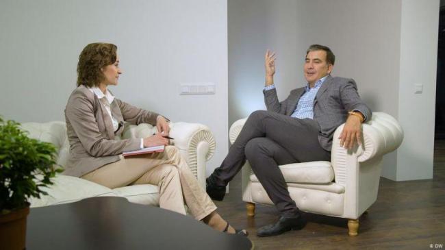 Саакашвили: Зеленский — не олигархический проект