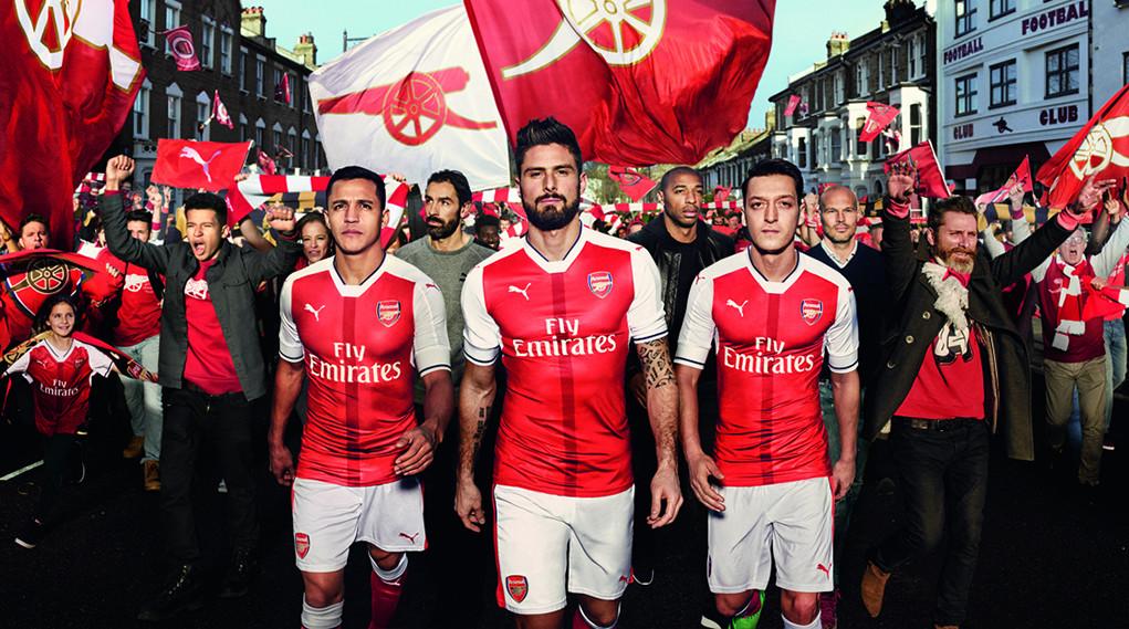 Soccerstyle - Футбольная форма Арсенал