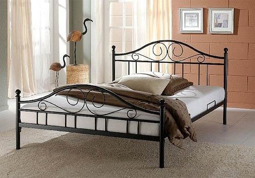 Современные металлические кровати по выгодным ценам