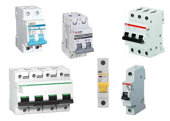 Большой выбор качественных автоматических выключателей по выгодным ценам