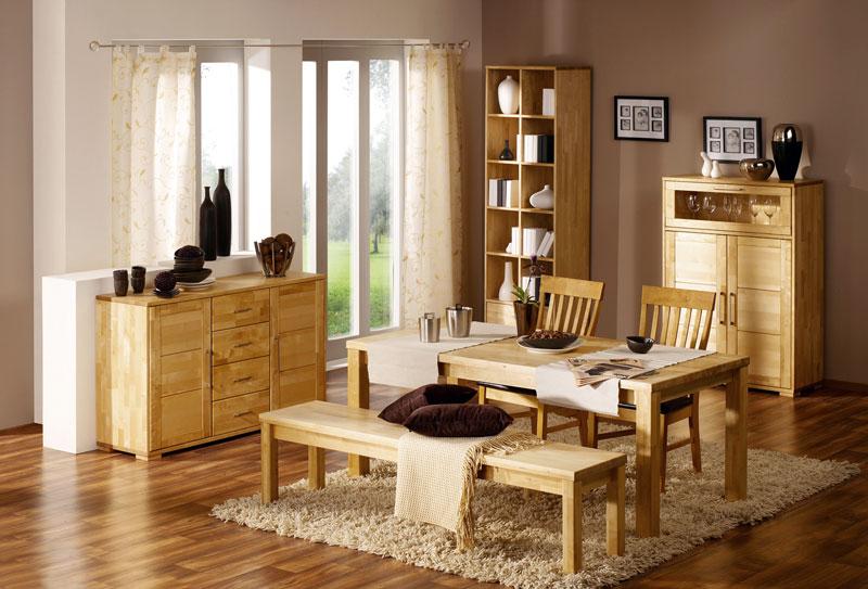 Мебель для дома из натурального дерева