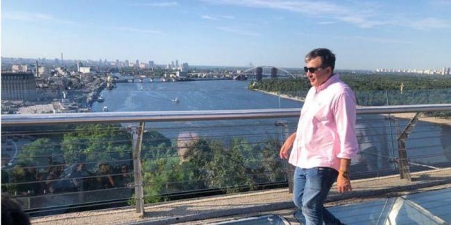 Саакашвили отказался возглавить партию УДАР