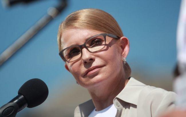 Тимошенко рассказала о встрече с Зеленским