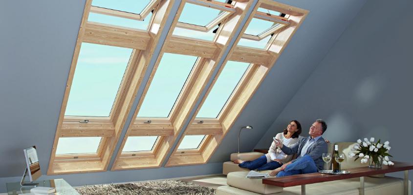 ЗАВОД «КМ» предлагает большой выбор качественных мансардных окон