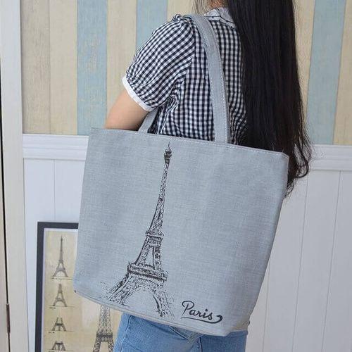 Женские тканевые сумки-шопперы