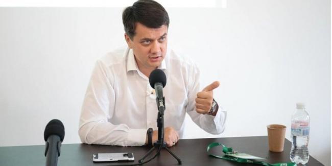 Разумков предложил оппозиции искать кандидатуру вице-спикера