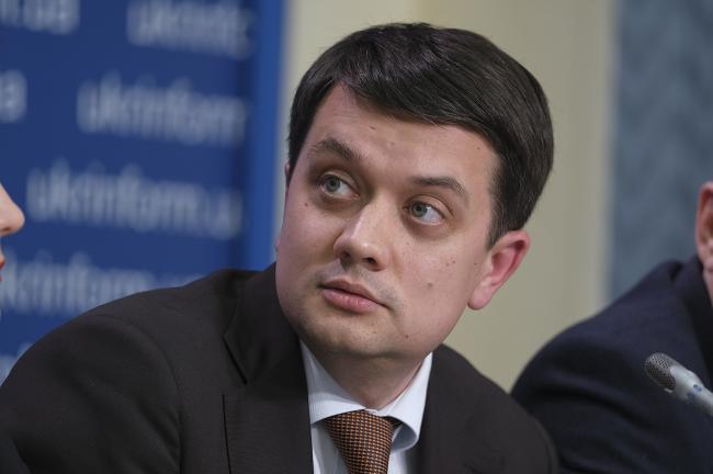 Разумков рассказал, как в Раде распределяются комитеты