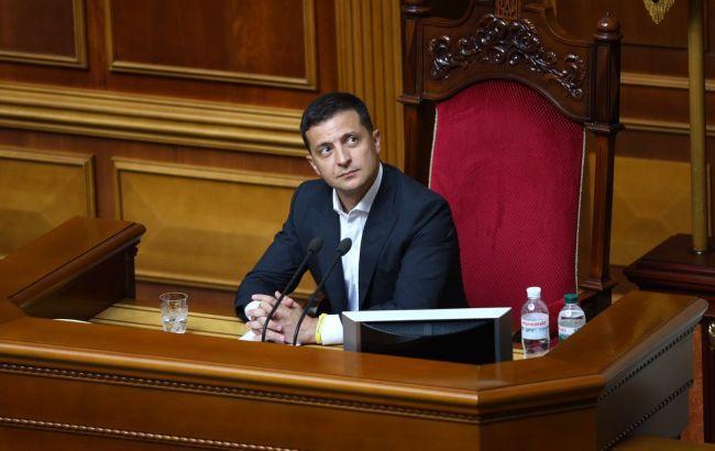 Зеленский предлагает Раде сократить количество депутатов до 300
