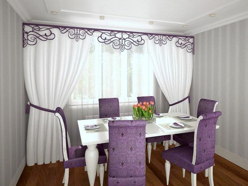 Изысканные шторы для кухни на заказ