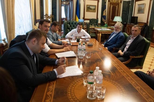 Коломойский рассказал о встрече с Зеленским в Офисе президента