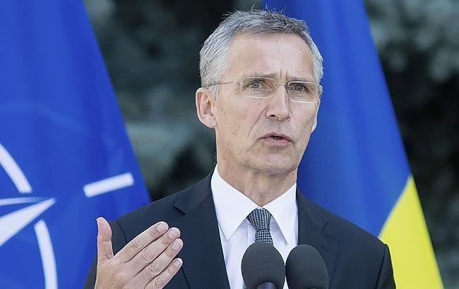 У России нет права голоса в вопросе вступления Украины в НАТО, - Столтенберг