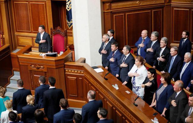 Лишь 70% депутатов были на всех заседаниях Верховной Рады в ноябре