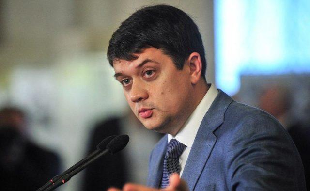 Разумков признает, что скандалы не добавляют рейтинга Раде