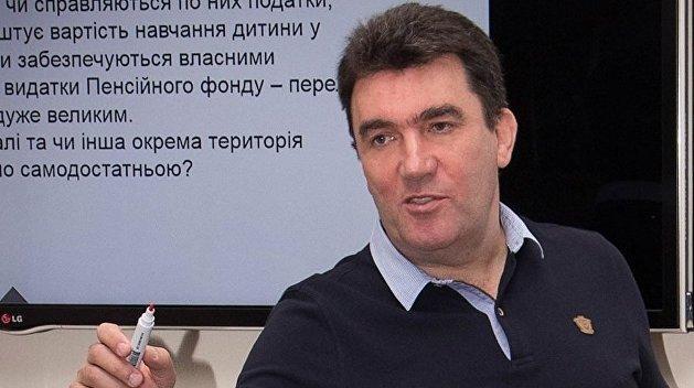 Секретарь СНБО опроверг возможность переговоров с боевиками на Донбассе