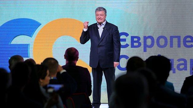 Рейтинг партии Порошенко вырос в полтора раза