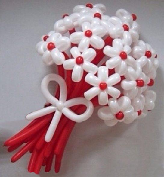 Впечатляющие букеты из воздушных шаров в Харькове