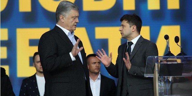 Год после выборов: активисты проанализировали заявления Зеленского во время дебатов с Порошенко на Олимпийском