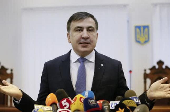Саакашвили обсуждал с депутатами должность советника Зеленского