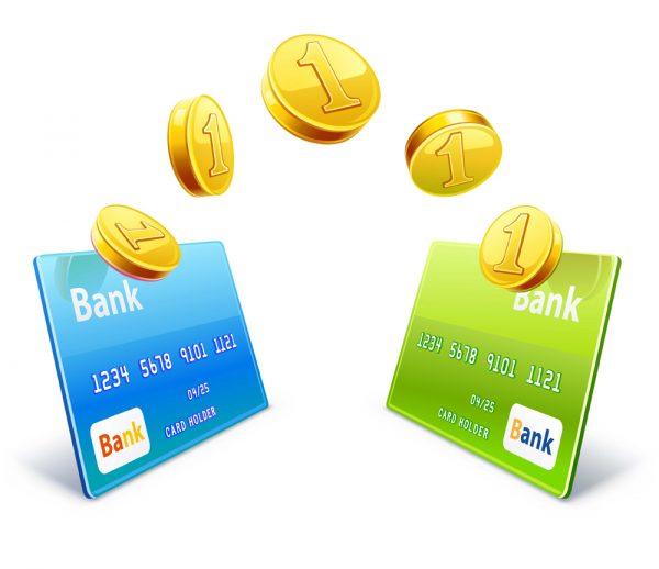 Пополнение банковской карты в два клика