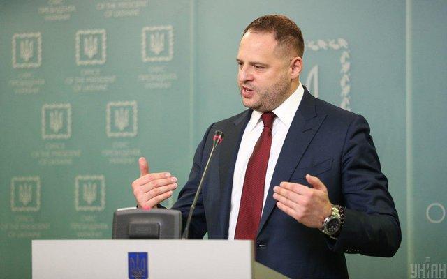 Украина сохранит в составе ТКГ представителей власти независимо от позиции России - Ермак